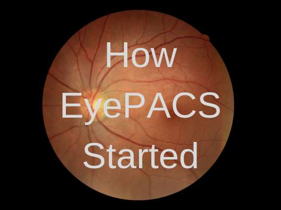 How Eyepacs Started